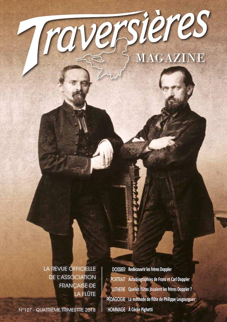 Traversières magazine, n° 127 (4ème trimestre 2018) - laflutedepan.com