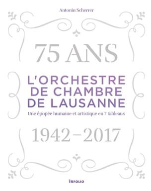 L'Orchestre de chambre de Lausanne Antonin SCHERRER laflutedepan