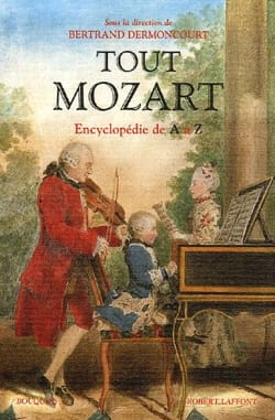 Tout Mozart Bertrand DERMONCOURT Livre Les Hommes - laflutedepan
