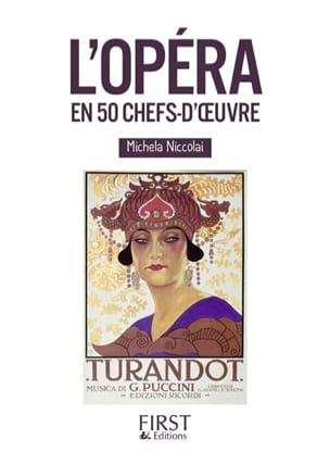 L'opéra en 50 chefs-d'oeuvre Michela NICCOLAI Livre laflutedepan