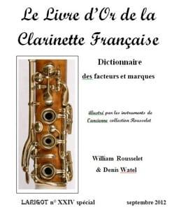 Le Livre d'or de la clarinette française - laflutedepan.com