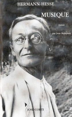 Musique Hermann HESSE Livre Les Arts - laflutedepan