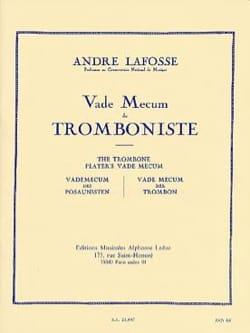 Vade Mecum du tromboniste André LAFOSSE Livre laflutedepan