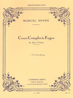 Cours complet de fugue, volume 1 DUPRÉ Livre Fugue - laflutedepan