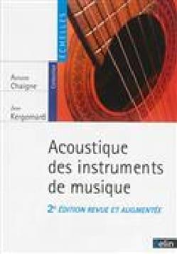 Acoustique des instruments de musique Antoine CHAIGNE laflutedepan