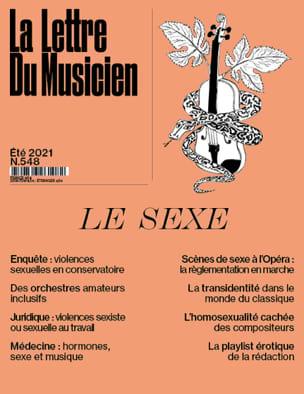 La Lettre du Musicien n°548 (été 2021) : Le Sexe Revue laflutedepan