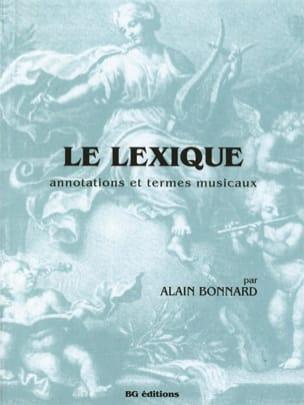 Le lexique Alain BONNARD Livre Dictionnaires - laflutedepan