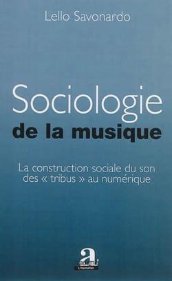 Sociologie de la musique Lello SAVONARDO Livre laflutedepan