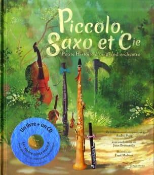 Piccolo et Saxo BROUSSOLLE Jean / MULTIER Frédéric Livre laflutedepan