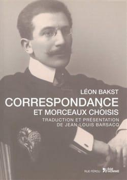 Correspondance et morceaux choisis - Léon BAKST - laflutedepan.com