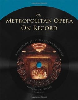 The Metropolitan Opera on Record (Livre en anglais) laflutedepan