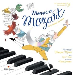 Monsieur Mozart Collectif Livre laflutedepan