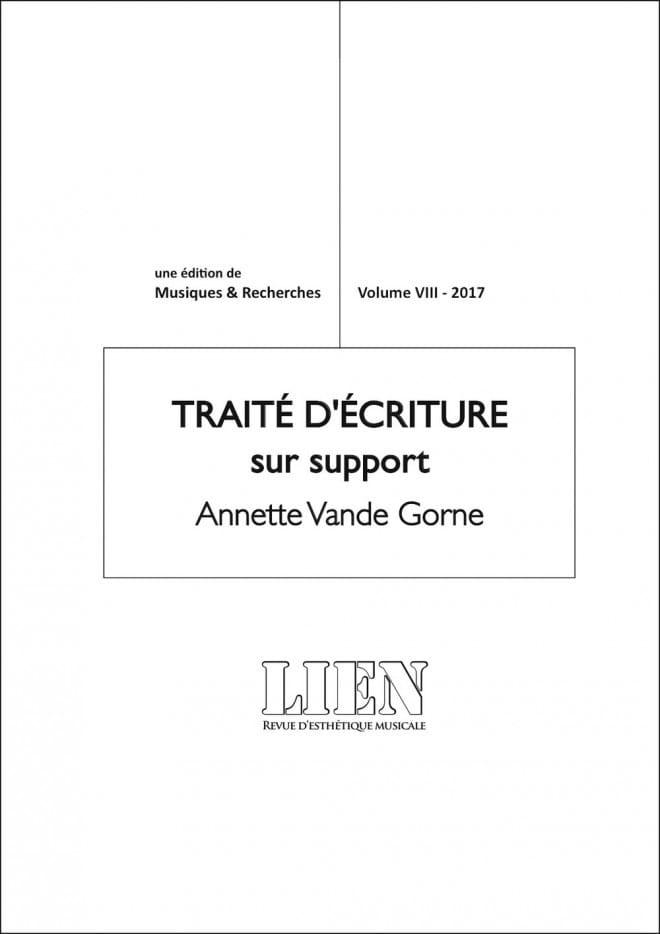 Revue LIEN, volume VIII : traité d'écriture sur support - laflutedepan.com