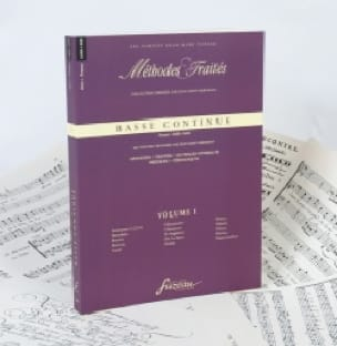Basse continue - France (1600-1800), vol. 1 - laflutedepan.com
