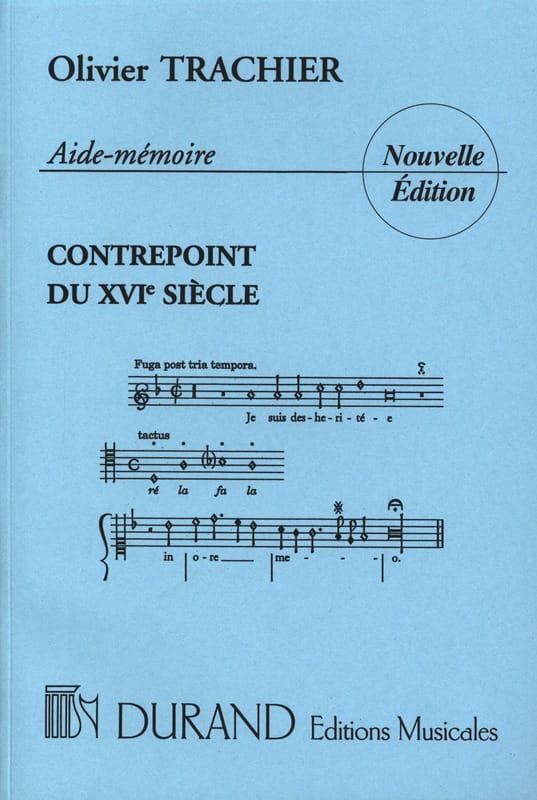 Aide-mémoire du contrepoint du XVIème siècle - laflutedepan.com