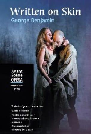 Avant-scène opéra (L'), n° 276 : Written on skin - laflutedepan.com