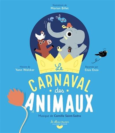 Le carnaval des animaux - SAINT-SAËNS - Livre - laflutedepan.com