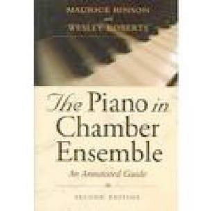 The piano in chamber ensemble - Maurice HINSON - laflutedepan.com