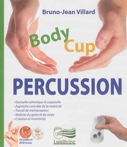 BODY CUP PERCUSSION VILLARD Bruno-Jean Livre Pédagogie - laflutedepan