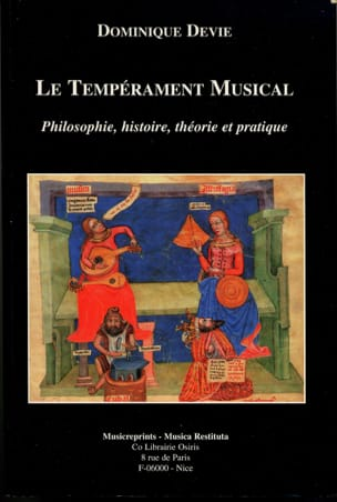 Le tempérament musical : philosophie, histoire, théorie et pratique laflutedepan