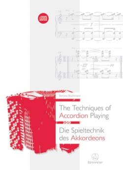 The techniques of accordion playing (Livre en anglais - allemand) laflutedepan