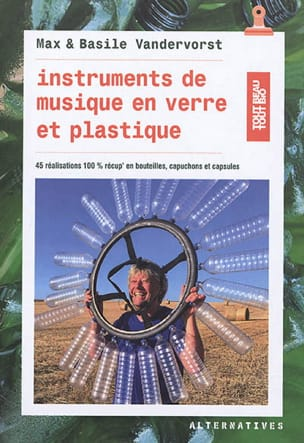 Instruments de musique en verre et plastique laflutedepan