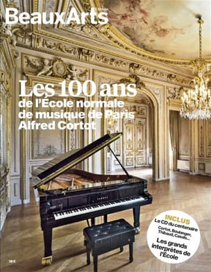 Revue - Les 100 ans de l'Ecole normale de musique de Paris Alfred Cortot - Livre - di-arezzo.fr