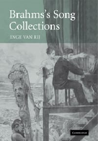 Brahms's song collections VAN RIJ Inge Livre Les Hommes - laflutedepan