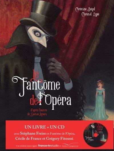Le fantôme de l'Opéra - laflutedepan.com