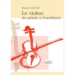 Maïté LOUIS - El violín: del placer a la excelencia. - Livre - di-arezzo.es