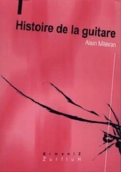 Histoire de la guitare Alain MITERAN Livre laflutedepan