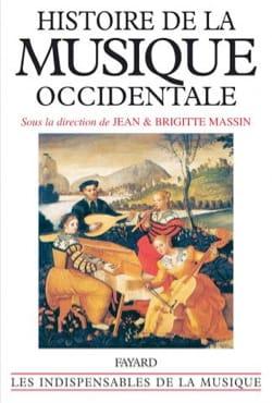 MASSIN Brigitte / MASSIN Jean - History of Western music - Livre - di-arezzo.com