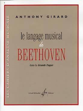 Le langage musical de Beethoven dans la Grande Fugue laflutedepan