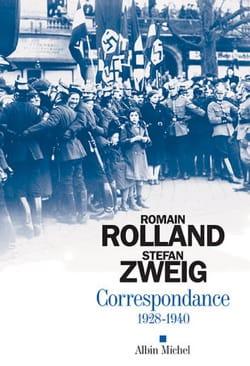 Correspondance 1928-1940 ROLLAND Romain / ZWEIG Stefan laflutedepan