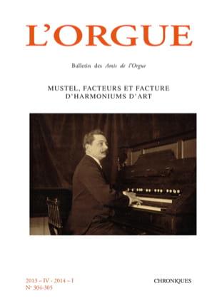L'orgue, n° 304-305 (2013/4-2014/I) Revue Livre Revues - laflutedepan