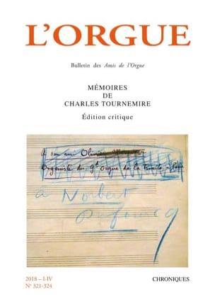 L'Orgue n°321-324 (2018/I-IV) Revue Livre laflutedepan