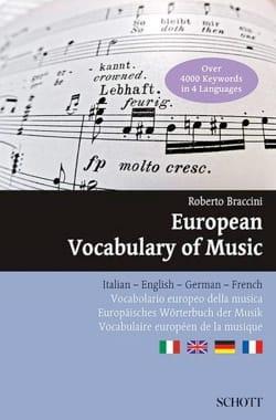European Vocabulary of Music Roberto BRACCINI Livre laflutedepan