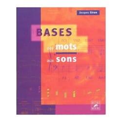 Jacques SIRON - Bases : des mots aux sons - Livre - di-arezzo.fr