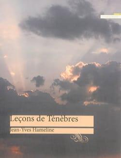 Leçons de ténèbres HAMELINE Jean-Yves Livre laflutedepan