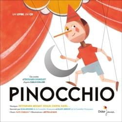 Pinocchio Edouard SIGNOLET Livre Contes musicaux - laflutedepan