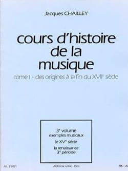 Cours d'histoire de la musique : Tome 1 vol. 3 laflutedepan