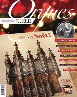 Orgues Nouvelles n°47 Revue Livre Les Instruments - laflutedepan