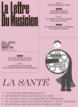 La Lettre du Musicien n°530 : La Santé Revue Livre laflutedepan