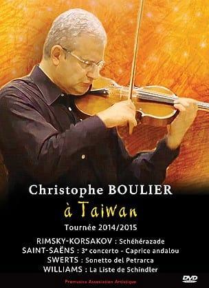 Christophe BOULIER - Christopher Boulier en Taiwán (gira 2014-2015) - Livre - di-arezzo.es