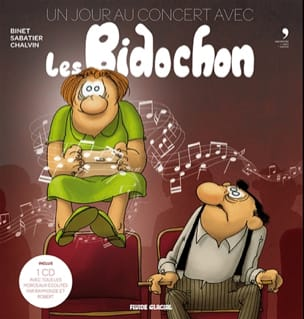Collectif - One day at the concert with the Bidochons - Livre - di-arezzo.co.uk