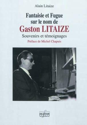 Fantaisie et fugue sur le nom de Gaston Litaize laflutedepan