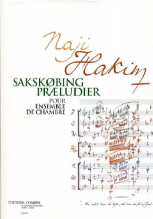 Sakskobing Praeludier - Pour ensemble de chambre (Fac-similé) - laflutedepan.com