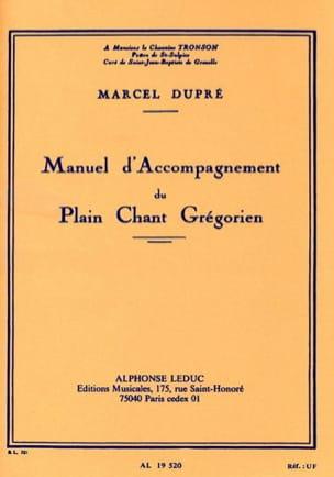 Manuel d'accompagnement du plain-chant grégorien DUPRÉ laflutedepan