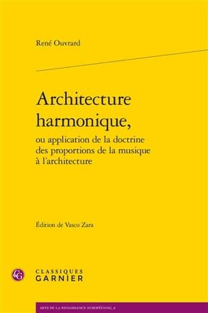 Architecture harmonique René OUVRARD Livre laflutedepan
