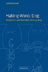 Making words sing : nineteenth and twentieth-century song laflutedepan
